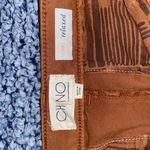 Anthropologie chino straight fit chinos